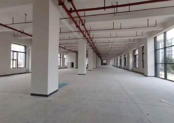 西乡固戍地铁口附近新出楼上整层3500平出租园区有高新补贴图片3