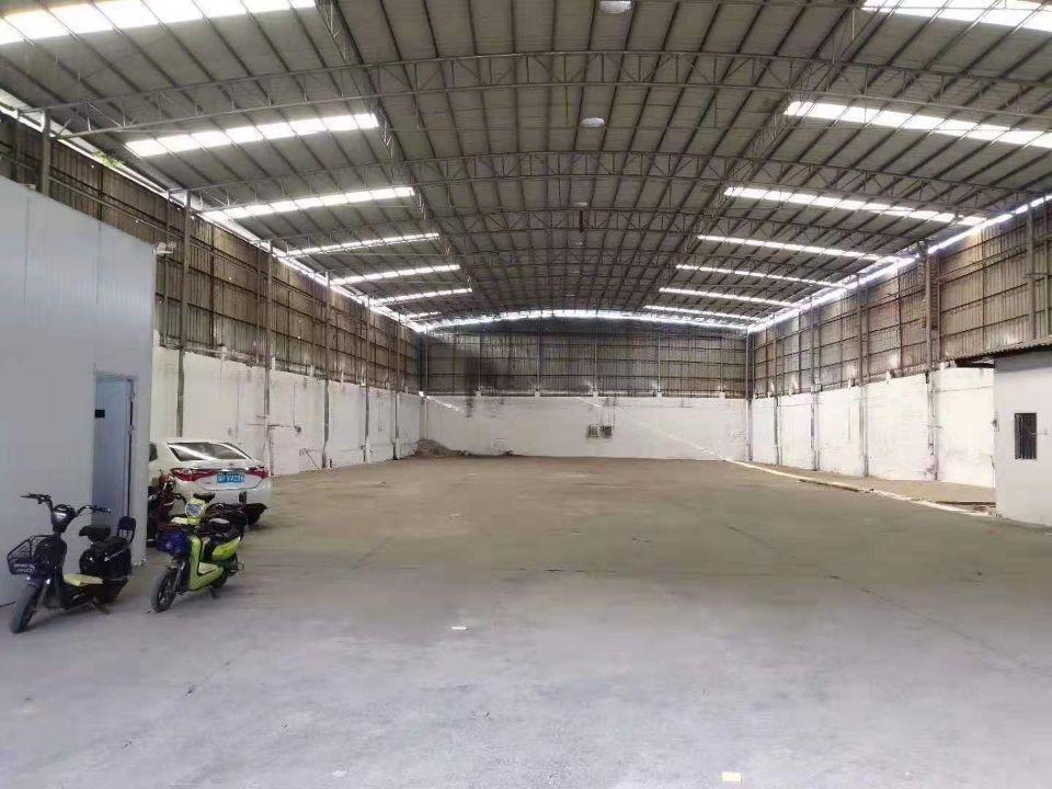 佛山市南海区大沥靠狮山单一层独院厂房1600方带精装修办公室