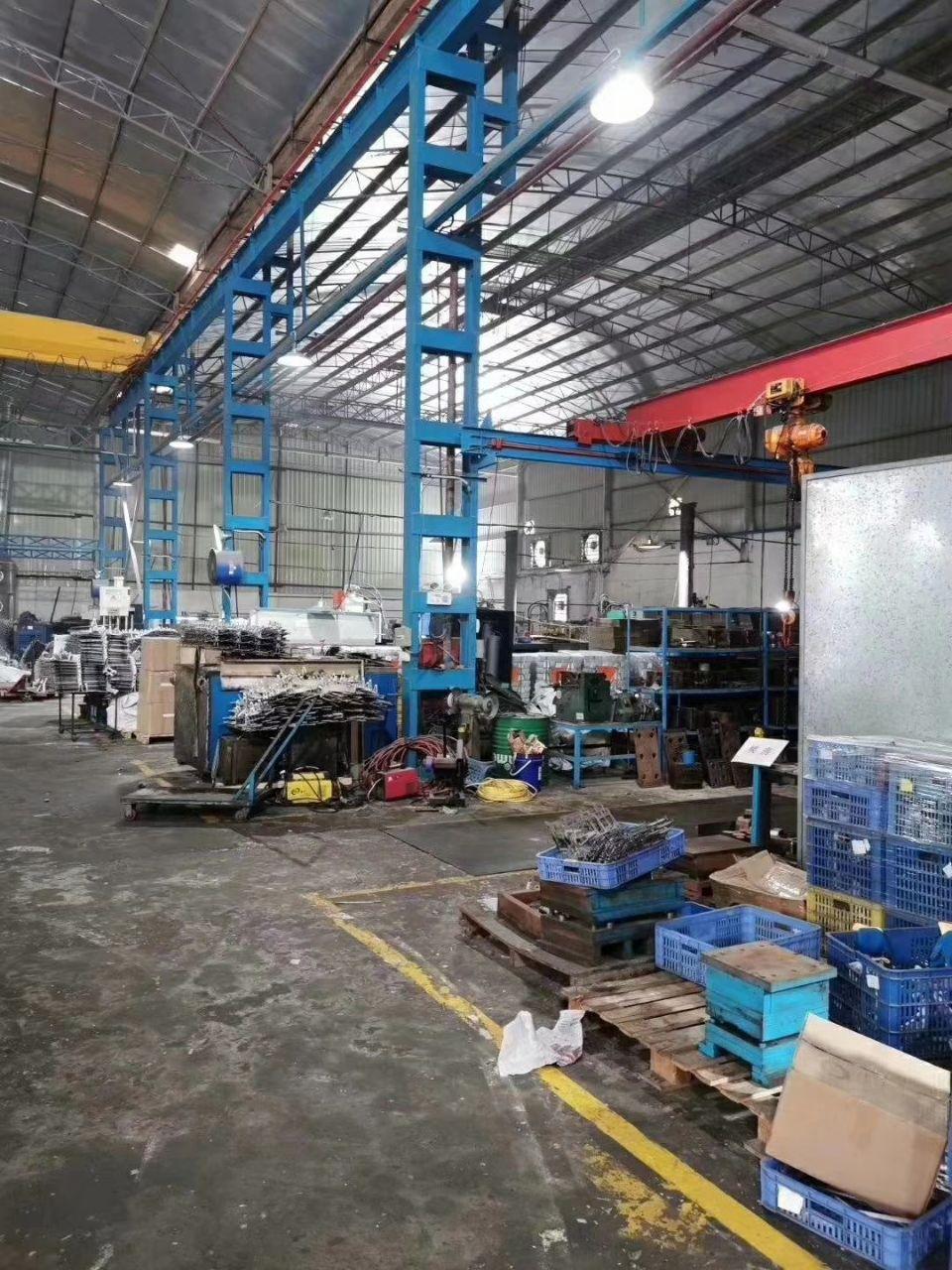 杏坛1900平带10吨行车厂房可做重工业货柜车好进