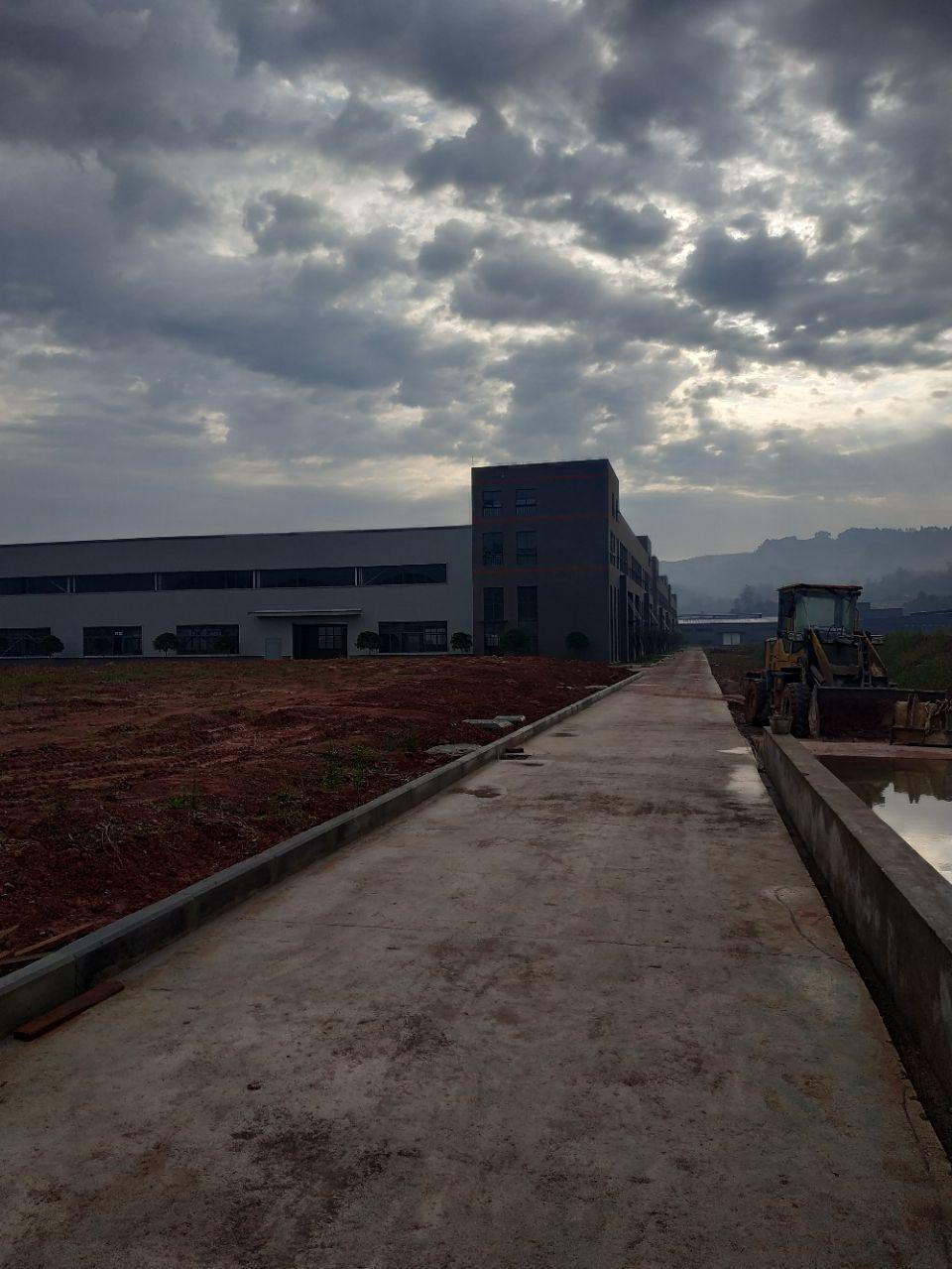 大渡口标准钢结构厂房带办公楼层高9米有行车腿跨度24米-图4