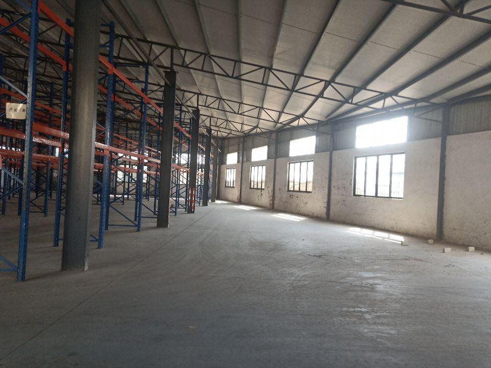 陈村广隆工业园带3层货架仓库厂房出租1000平方租金16元