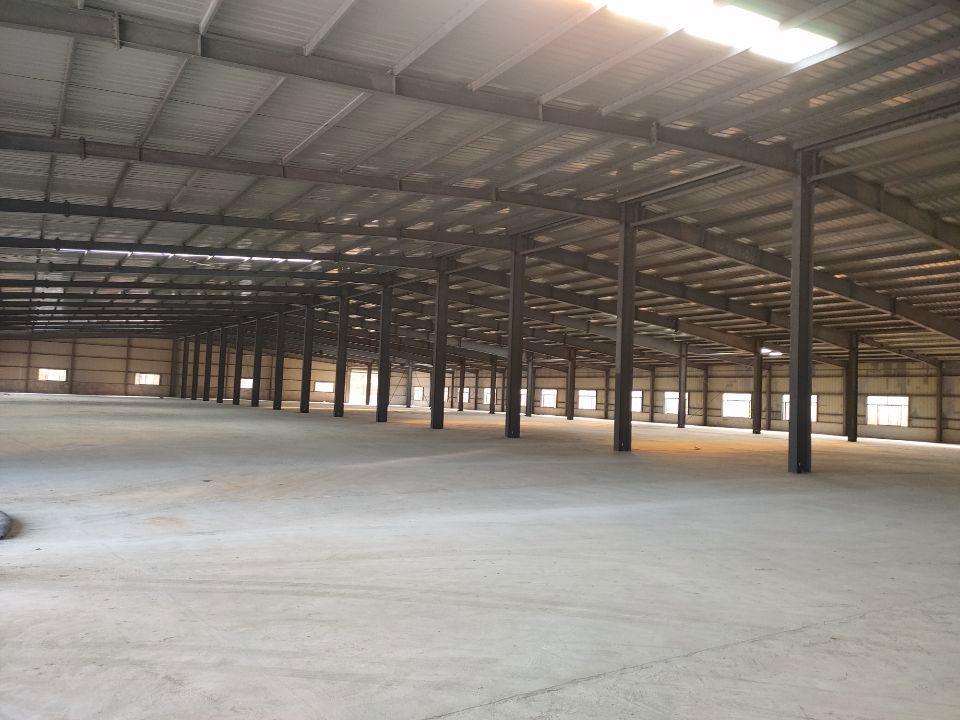 黄陂天河8000平钢构厂房,可分割,有5个门,可做仓储轻工