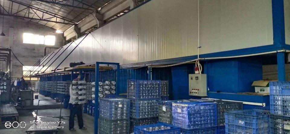 中山横栏新茂工业区有电泳厂房出租,1500方,