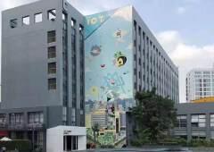 坂田企业总部4000平一层精装修大小分租