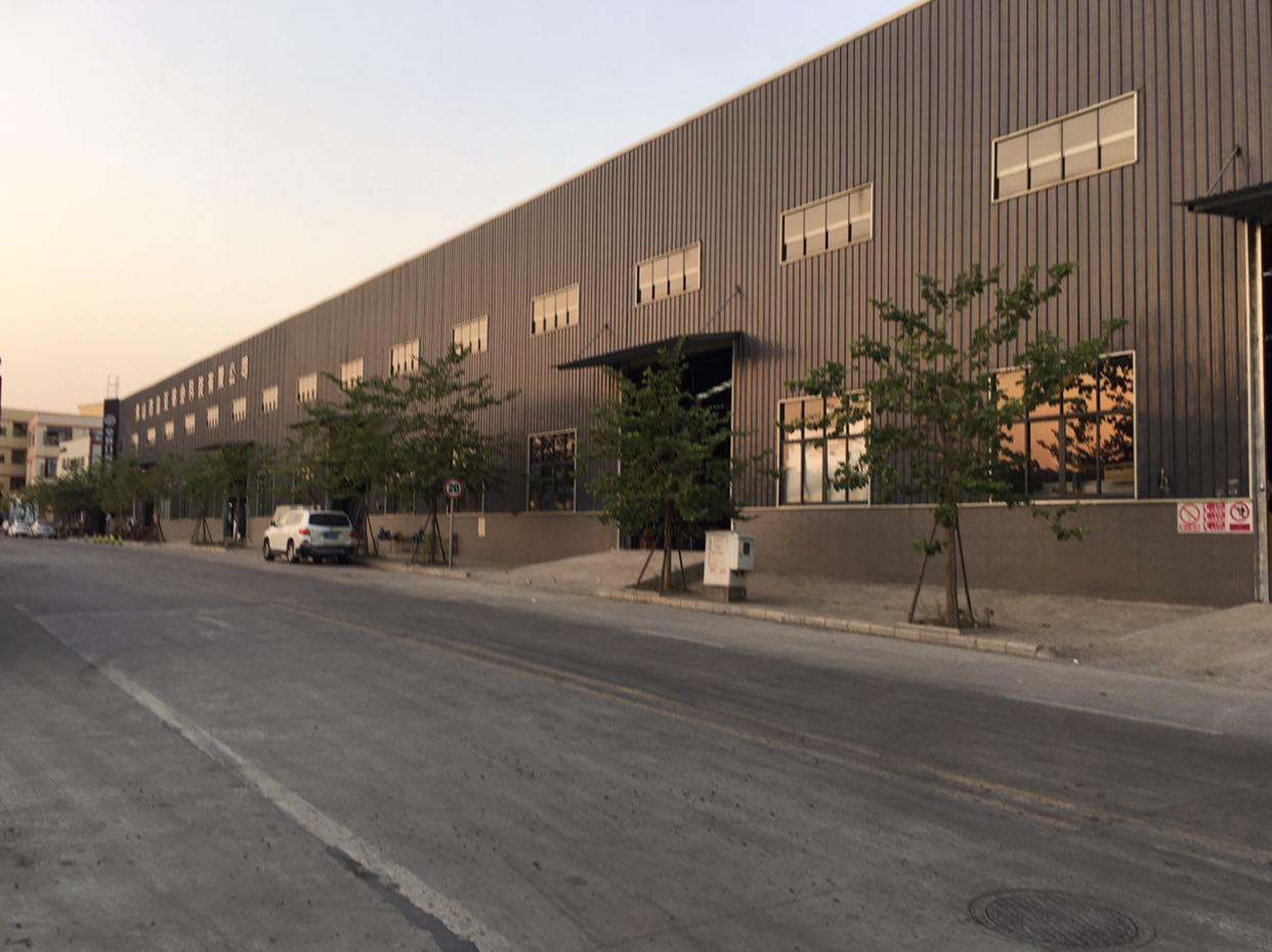 佛山市南海区狮山镇新出原房东钢结构3万方仓库出租500起分割