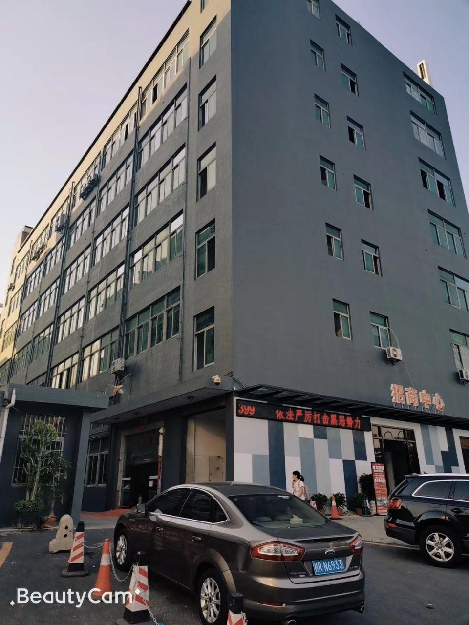 西乡银田工业区小面积仓库246平带装修,租金35全包