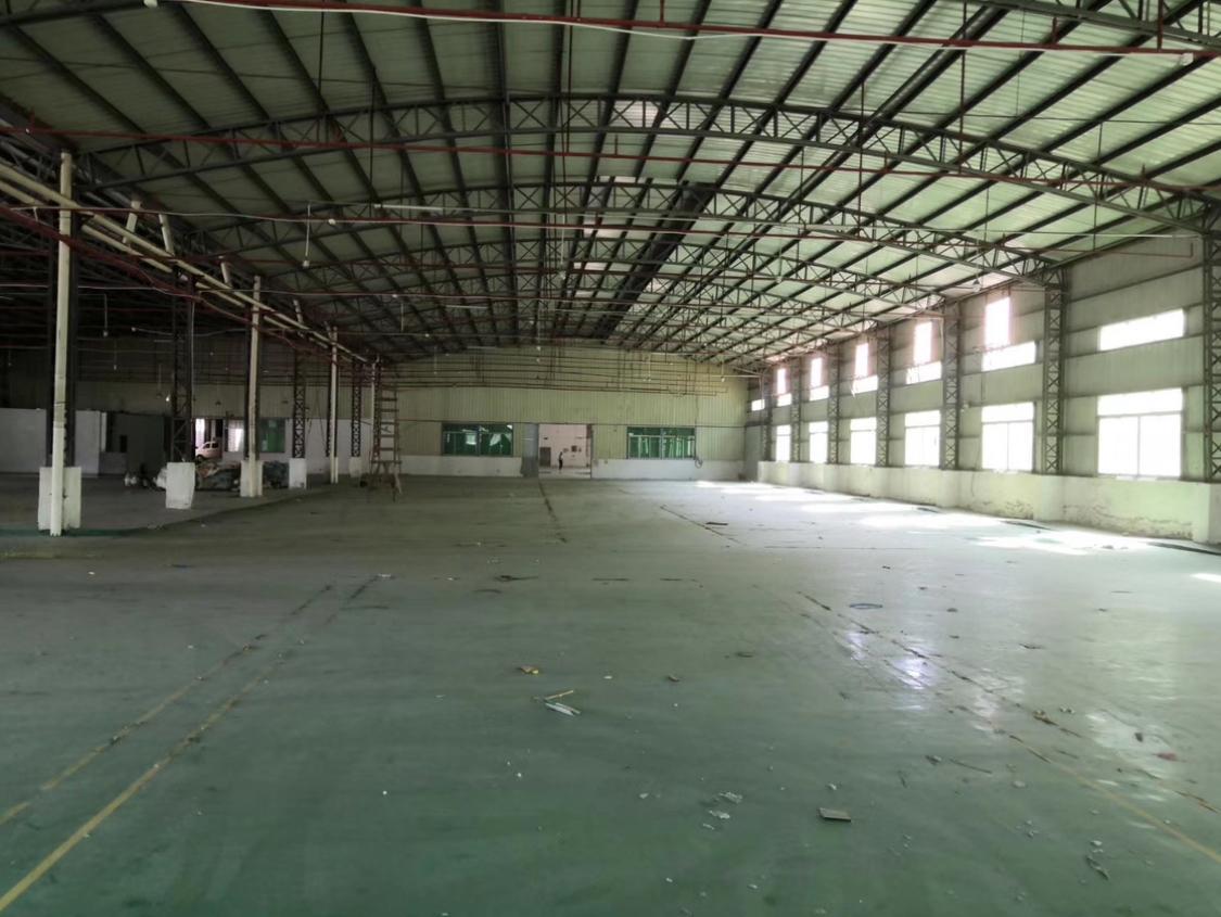 沙田独院钢构厂房带现成办公室宿舍实际面积出租3650平方