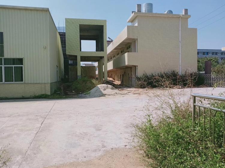 佛山市里水镇独门独院单一层9米高厂房4250平方米,可办环评-图2