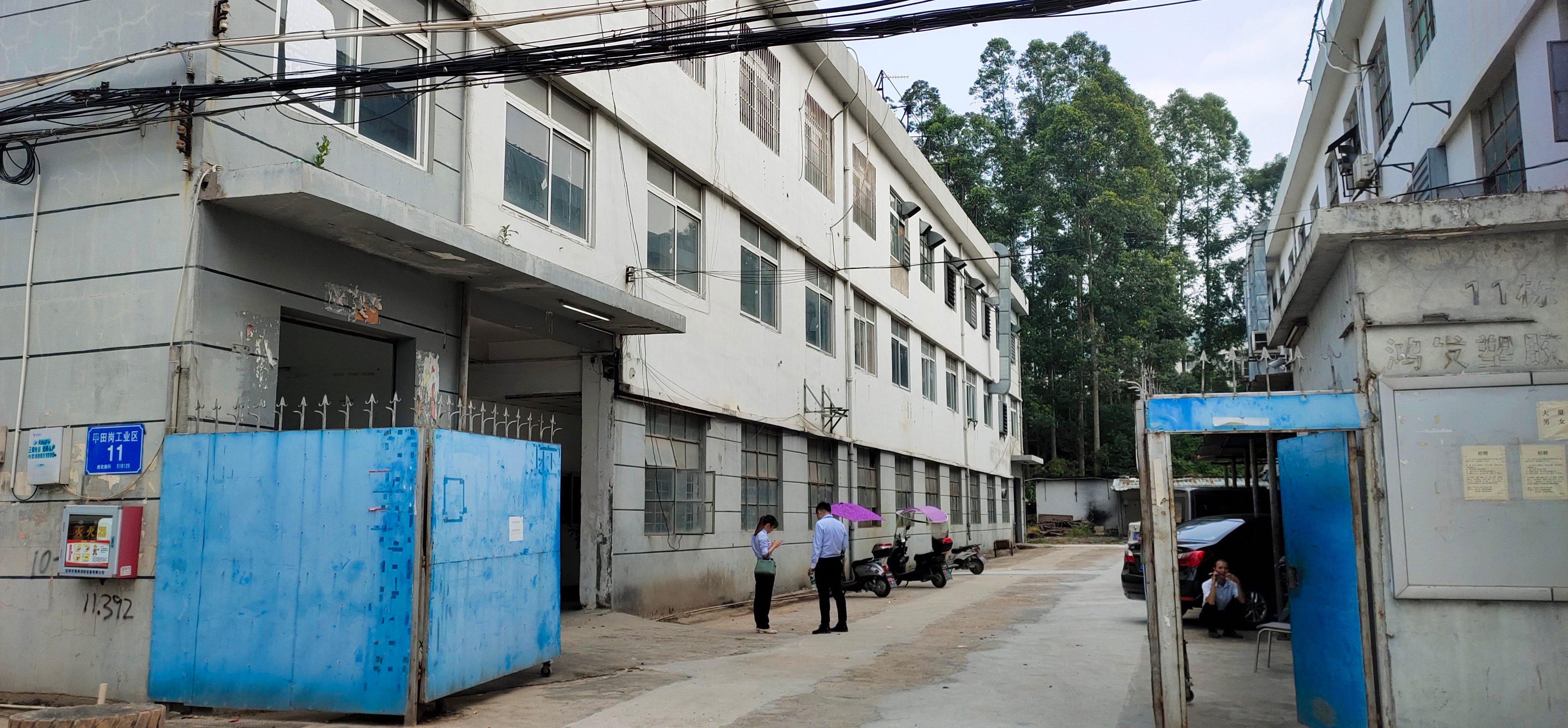 西乡黄田二楼1300平标准厂房招租独门独院好管理