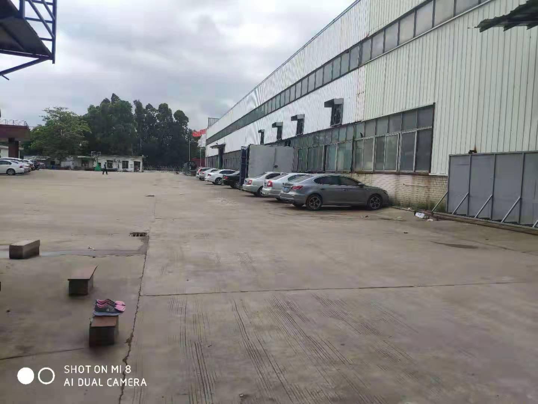 高明区富湾工业区标准重工厂房10500㎡出租。可办环评