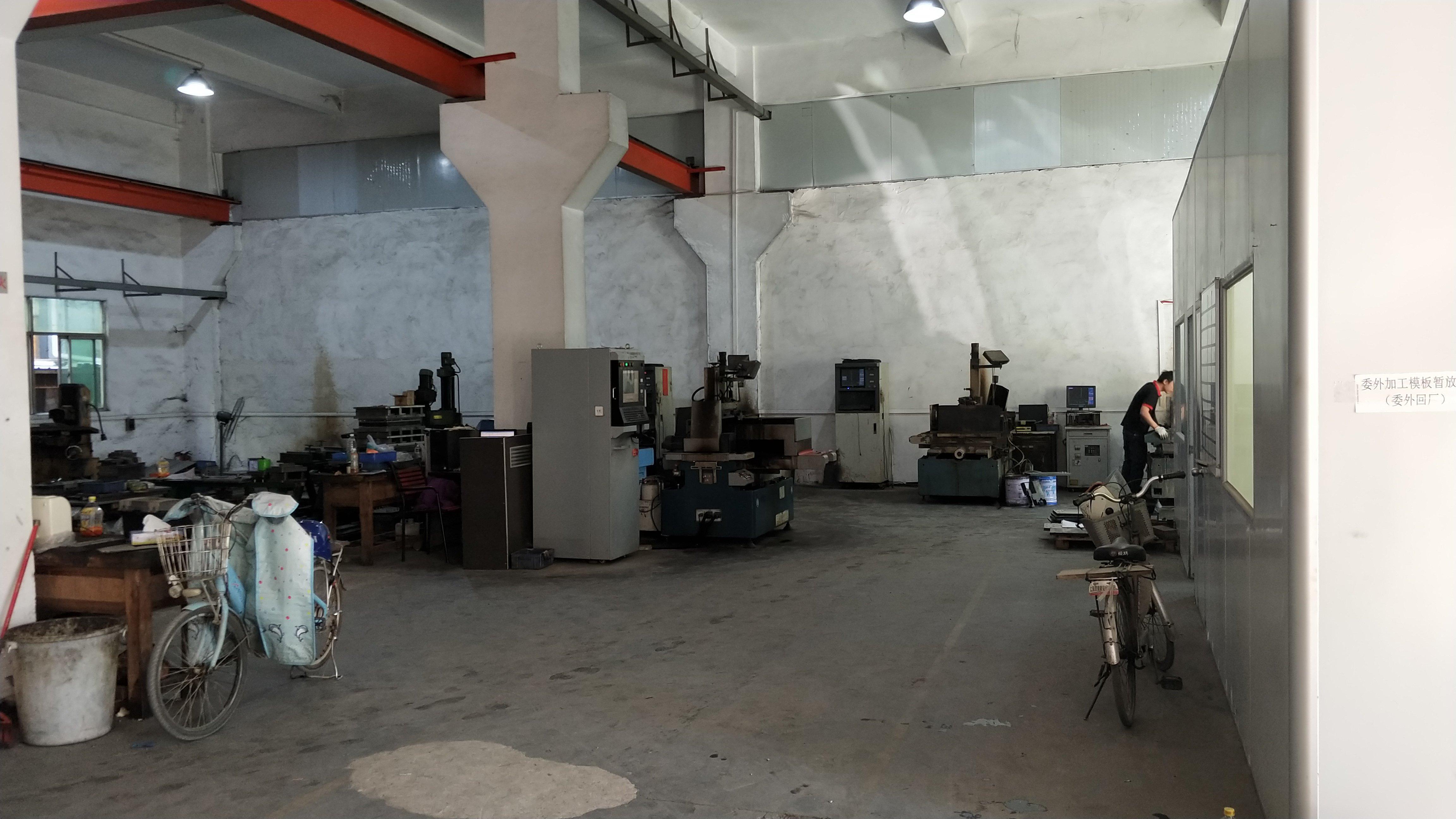 [清溪厂房]原房东标准1楼450平,高6.5米,带行车办公室