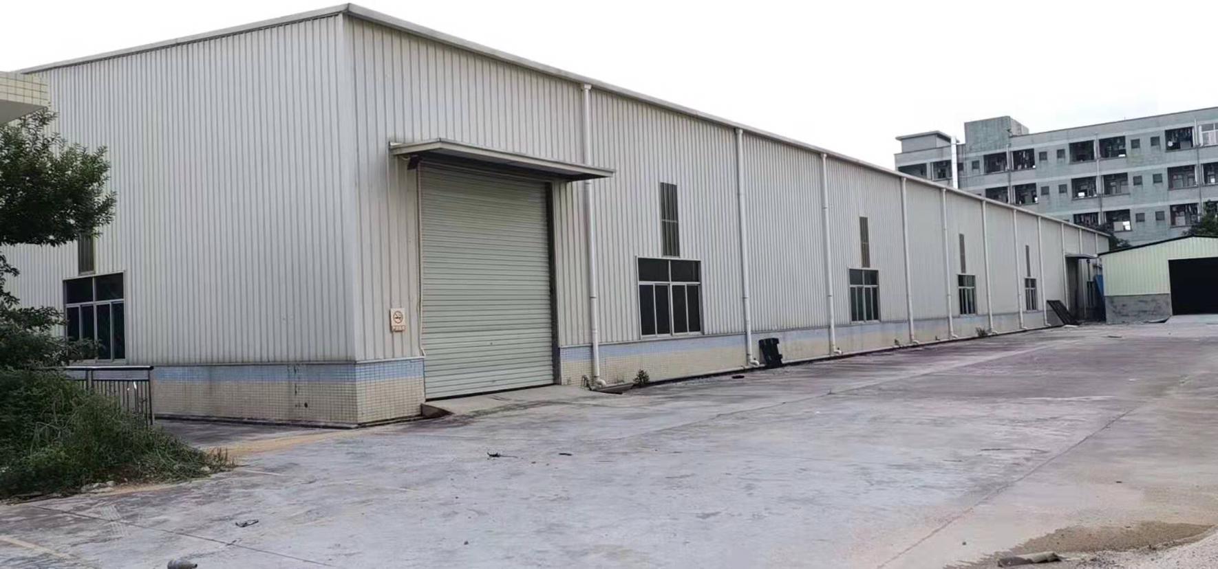 桥头新出钢构独门独院单一层厂房9600平方