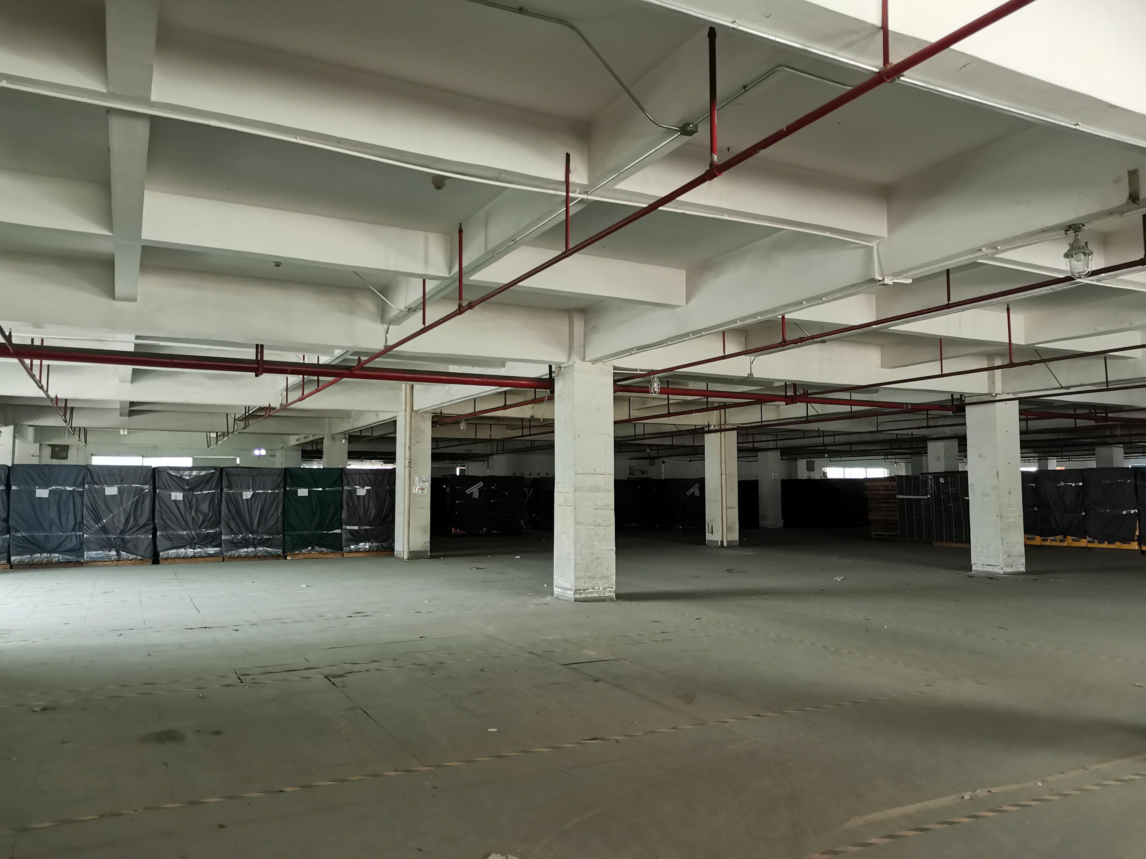 布吉布澜路3300平带卸货平台,5吨货梯仓库出租