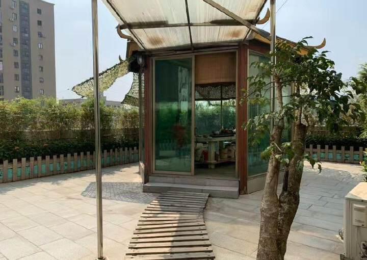 送大阳台!花园式办公室!龙华地铁284平豪华装修办公室出租!图片8