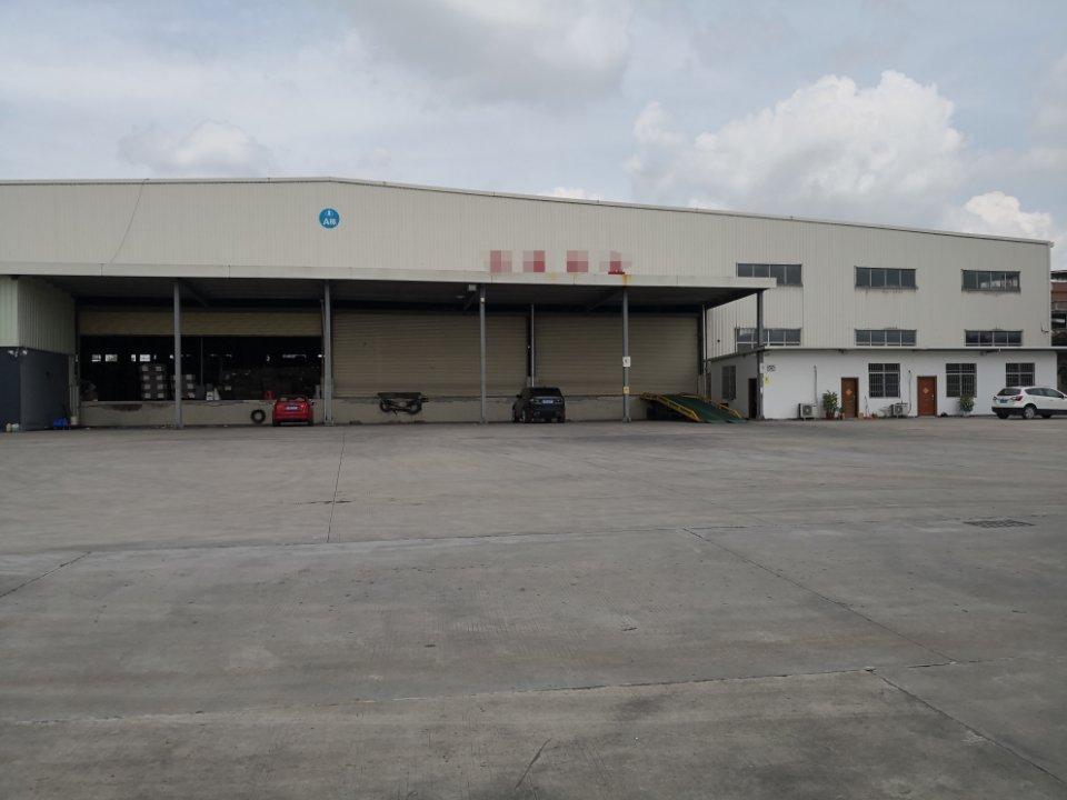 荷城三洲工业区新出5000平方高台仓库,丙二类消防,有红本!