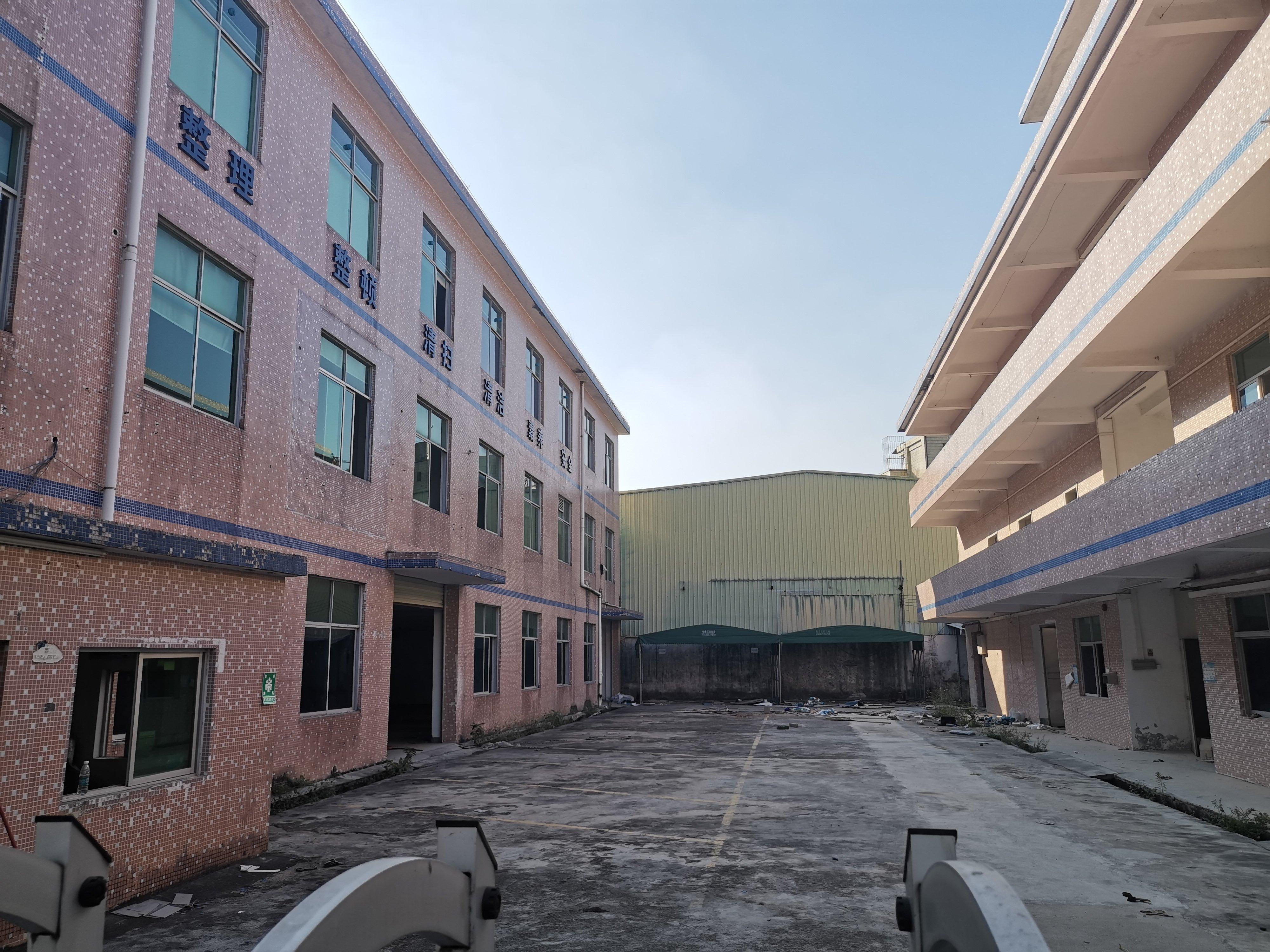 坪山坑梓原房东自用红本建筑4300平独院厂房出售可办环评