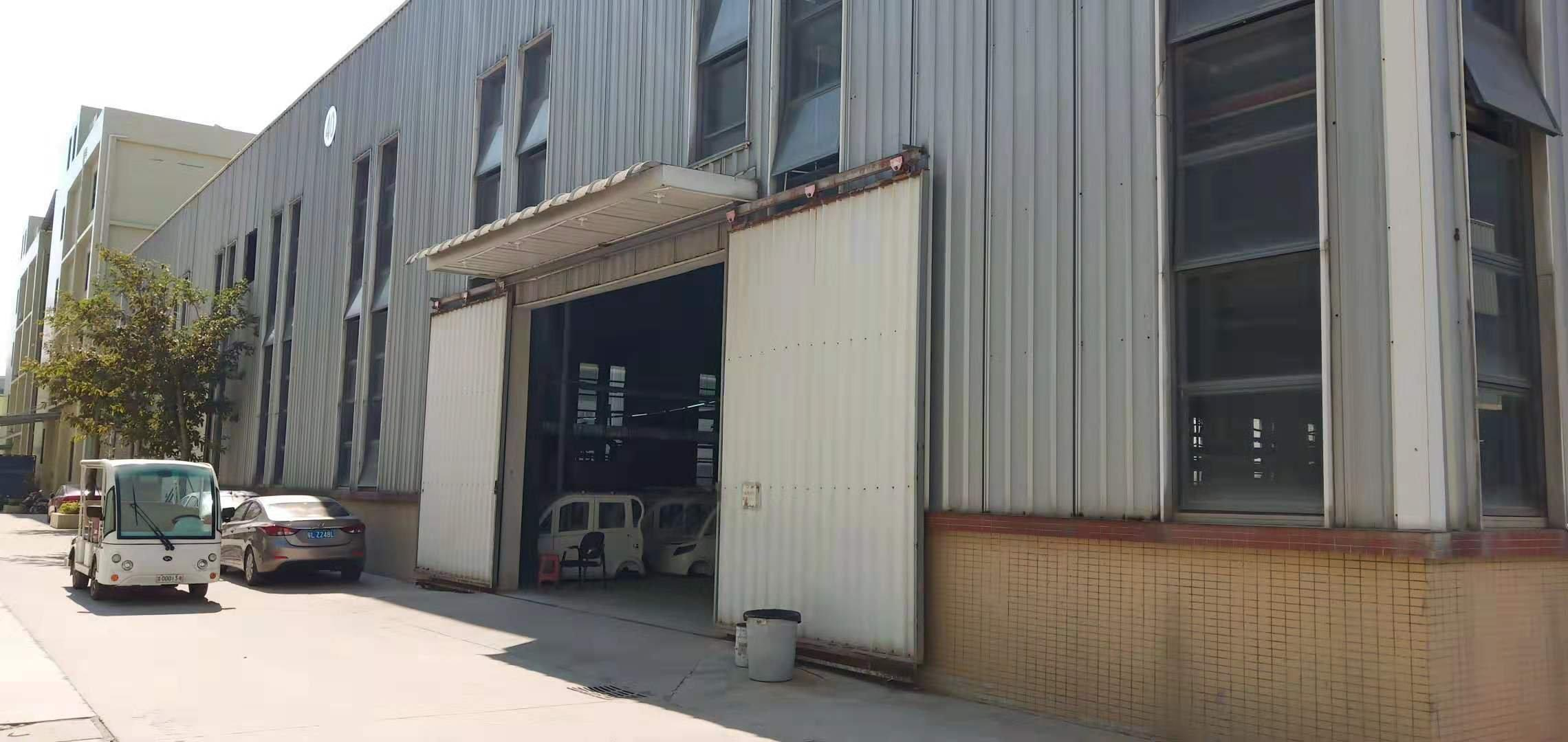 博罗杨桥镇工业园区钢构厂房6000,汽车零件,电泳喷漆牌照