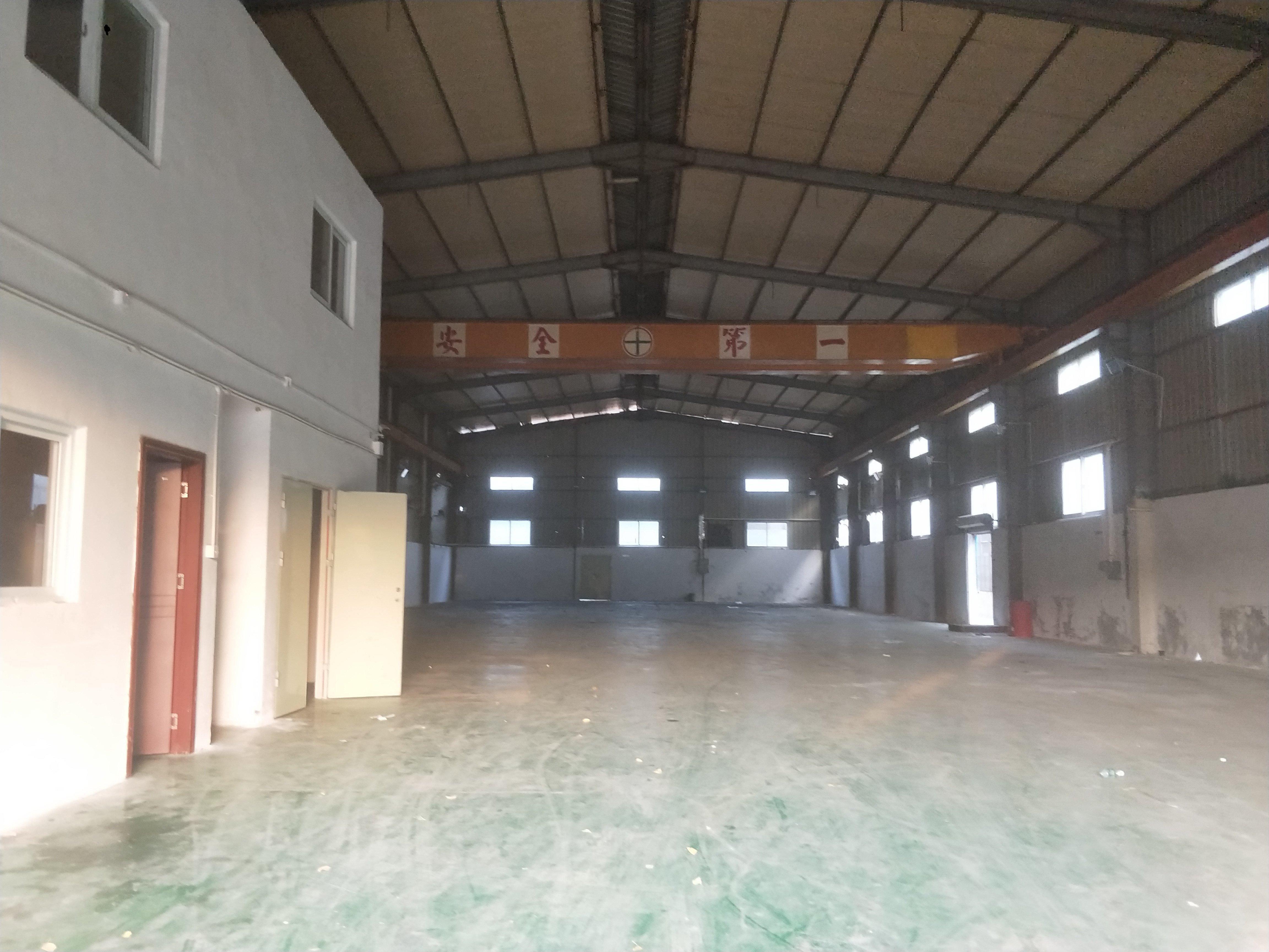 松岗广田路边上新出8米高带行车厂房原房东实际面积出租