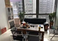 南联高端办公楼98平,1+1双面采光带家私,6800/月