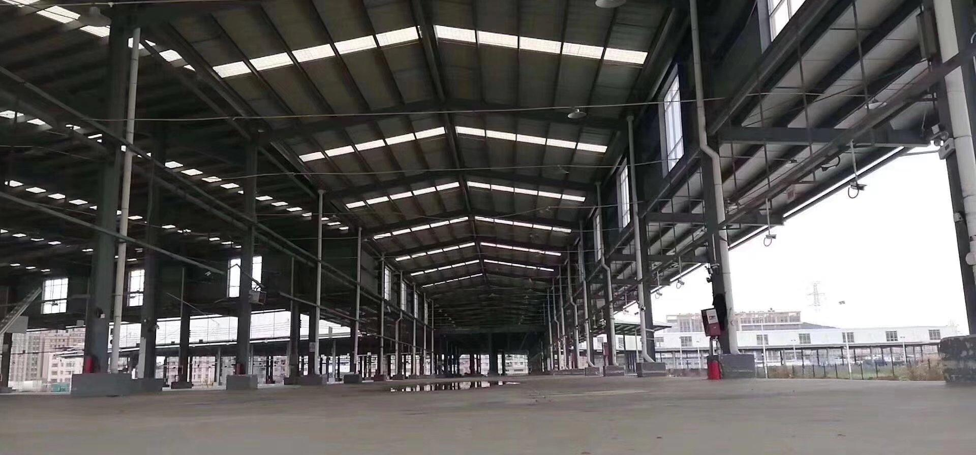 虎门27000平米物流厂房出租: 现成高台仓,四面库