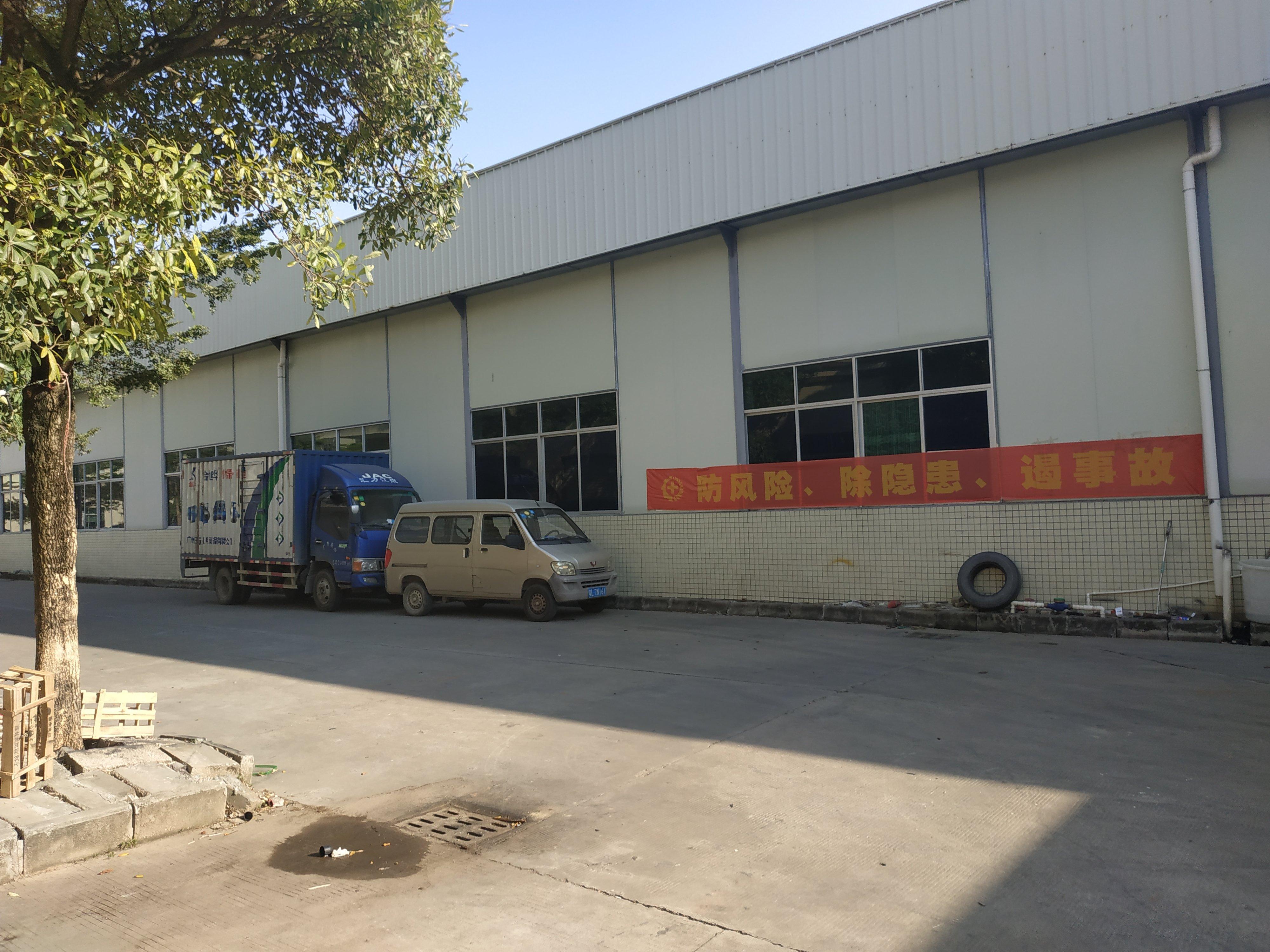 惠州市水口镇原房东仓库2200平方钢结构厂房招商