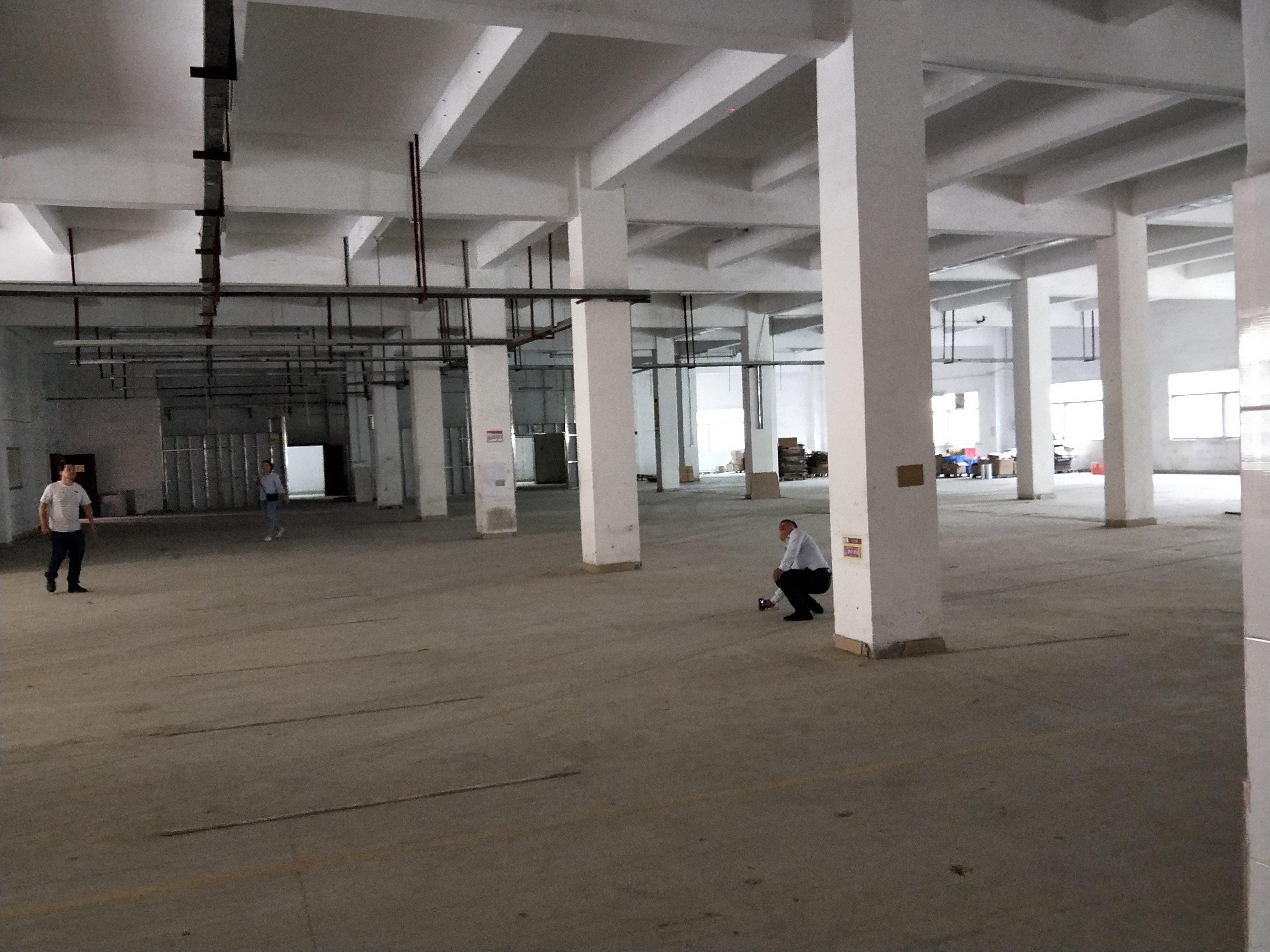 横岗新出原房东实量厂房1980一楼高度5.5米高速路口边上