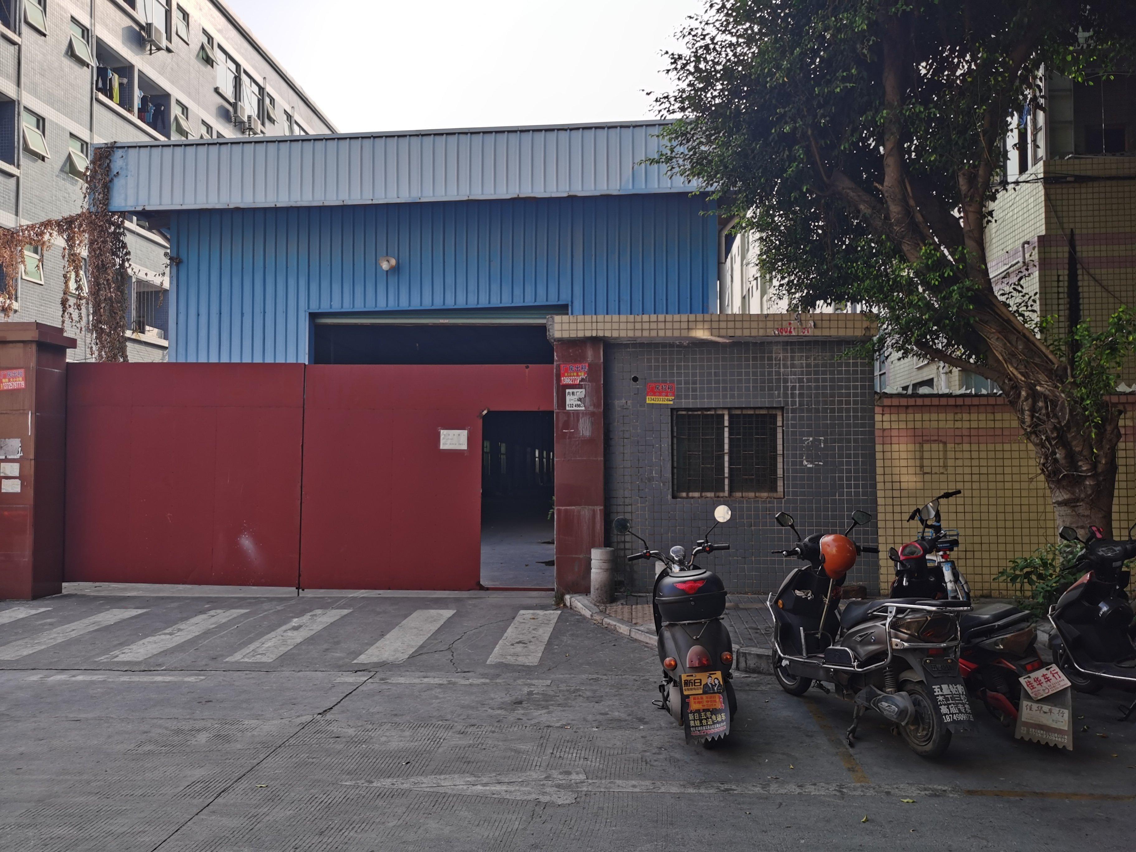 沙井高速出口独院钢结构1500平方仓库出租