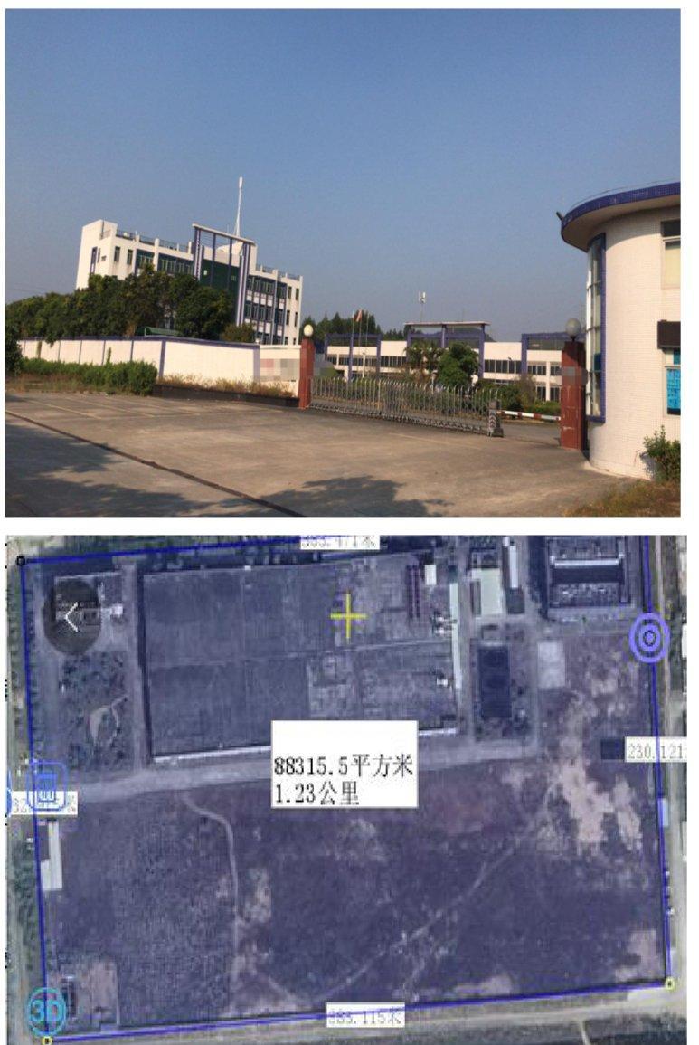 江门古井镇占地131亩建筑28197㎡国有双证厂房出售