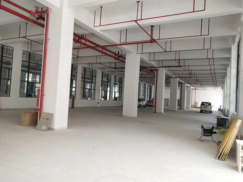 坪山坑子原房东楼上整层1400平,全新厂房