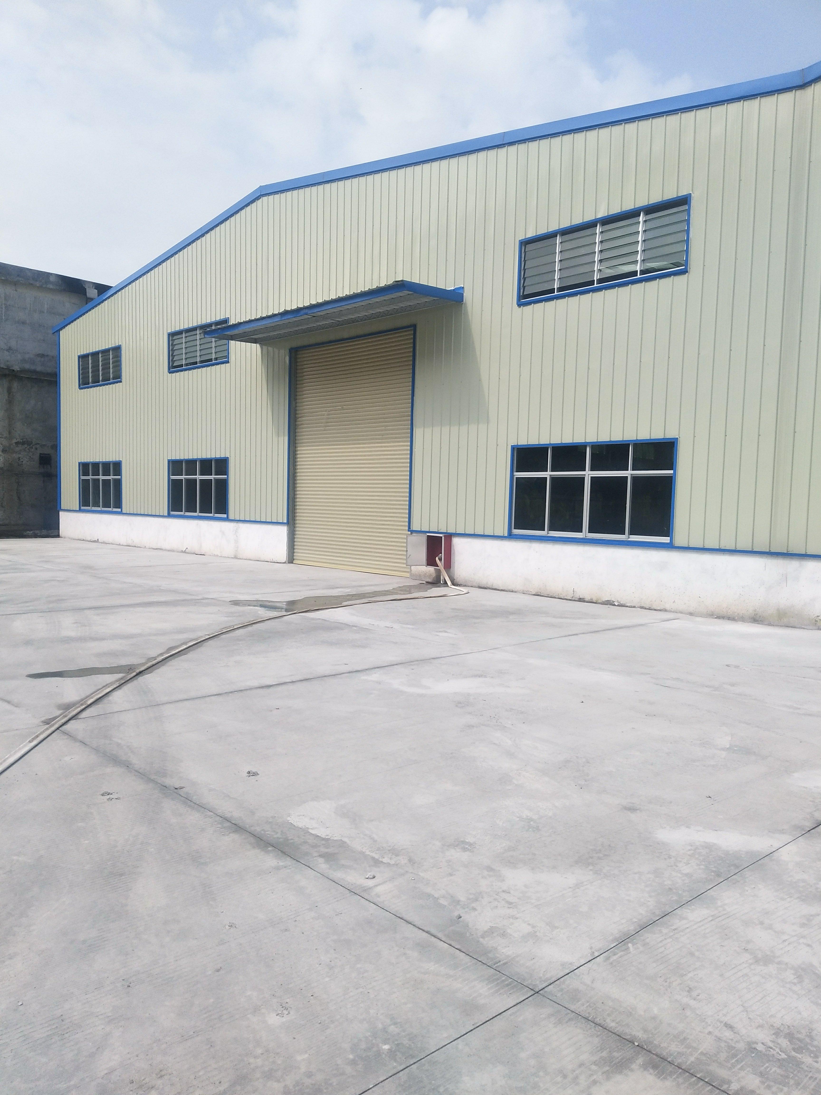 寮步镇西溪村,生态园大道旁边,新建小面积仓库