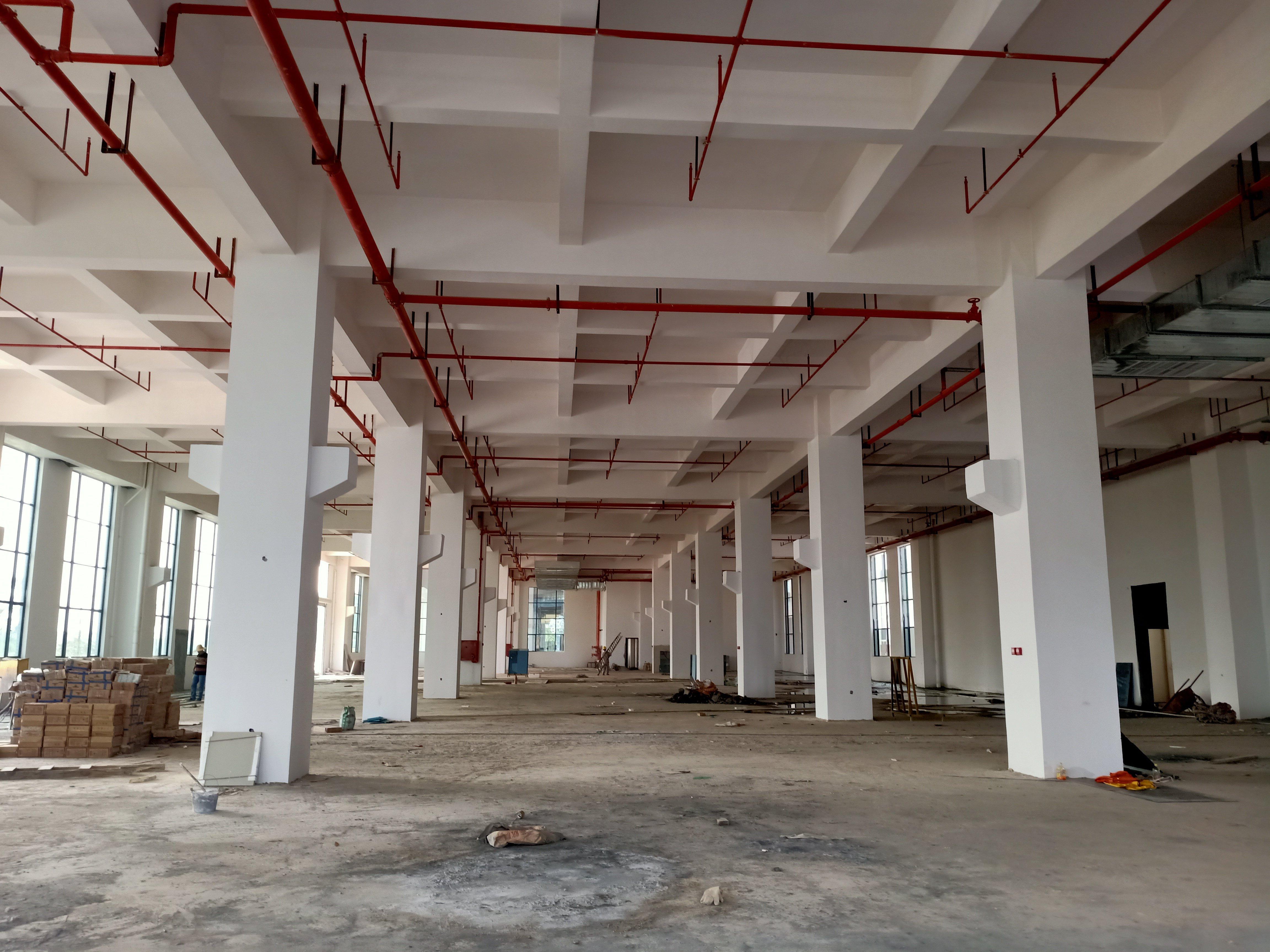 洪梅镇原房东标准厂房1-4层6000平实际面积出租工业用地
