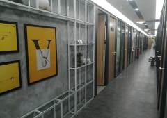 惠州龙门精装修办公室现有566平招租使用率高大开间