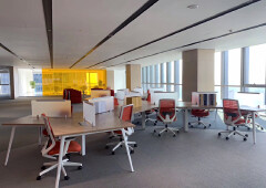 科学城甲级写字楼使用率高达80%楼上248.3平精装修办公室