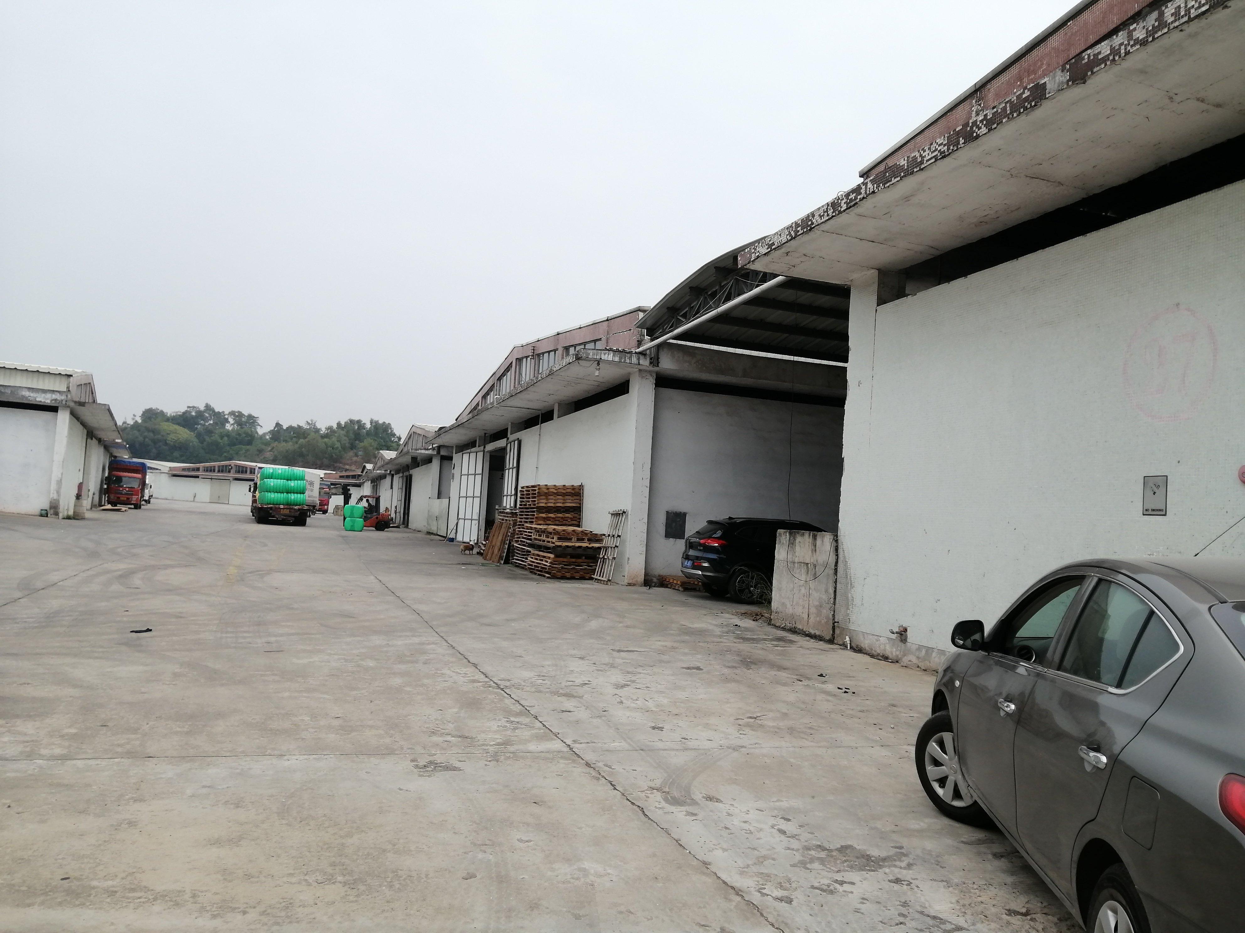 大型仓库,面积大小分租。现成消防合格证。