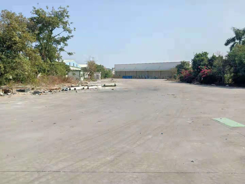 出租丨樟木头镇6800平米高台物流仓库可分租一半
