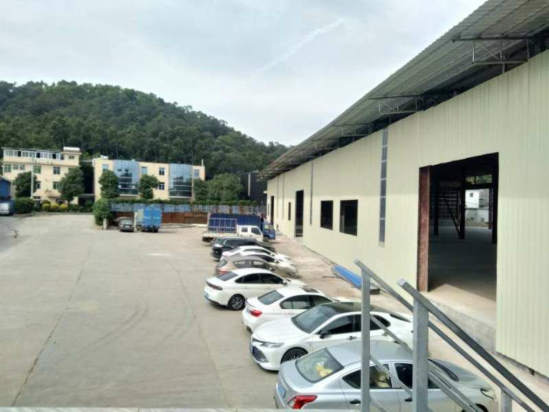 广州高速出口5716平全新独栋钢构厂房仓库出租可分租滴水9米