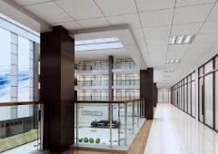 坪山新区聚龙山公园旁三楼带精装修308平米写字楼招租