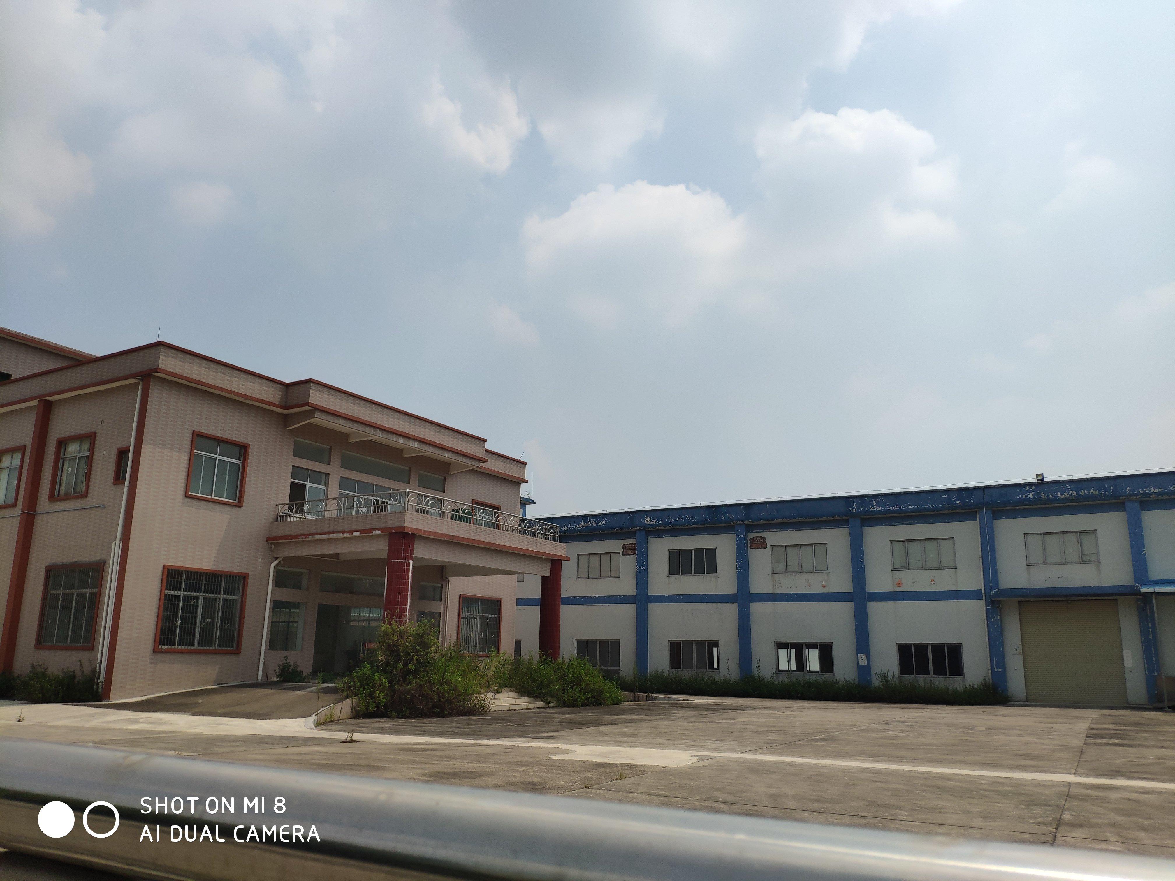 白云机场附近占地21亩建筑1万平红本独院厂房出售