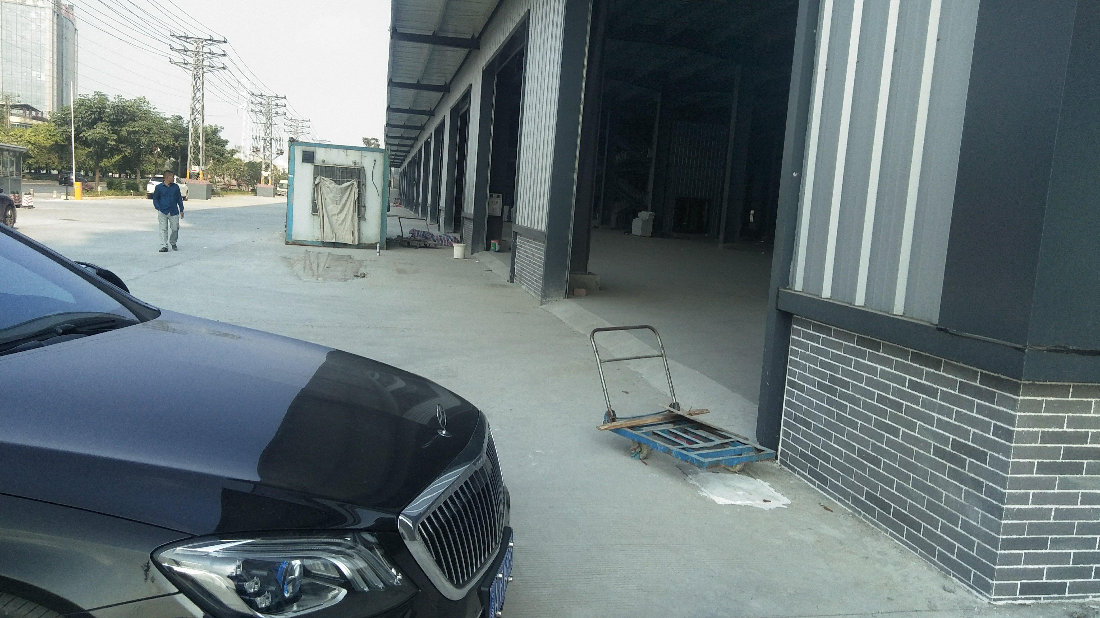 麻涌单一层钢构独院高台仓库出租