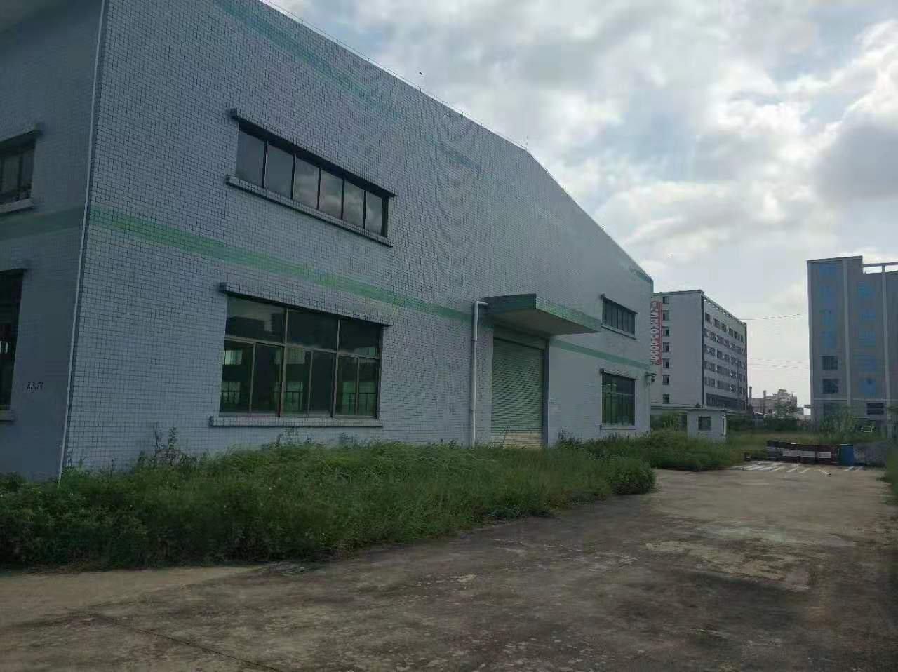 惠州市仲恺高新区沥林镇原房东独院钢构厂房2000平方滴水9米