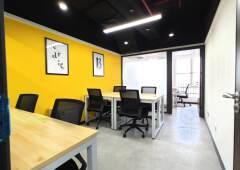 越秀区淘金地铁站附近精装写字楼高层10~50平方可选带家私