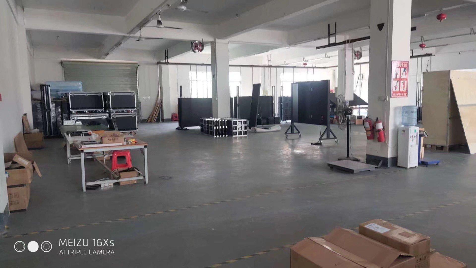 福永桥头工业园楼上1100平精装修厂房招租无转让费-图3