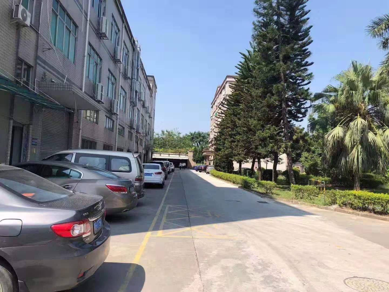 观澜梅观高速口原房东花园式二楼1900平带装修厂房出租