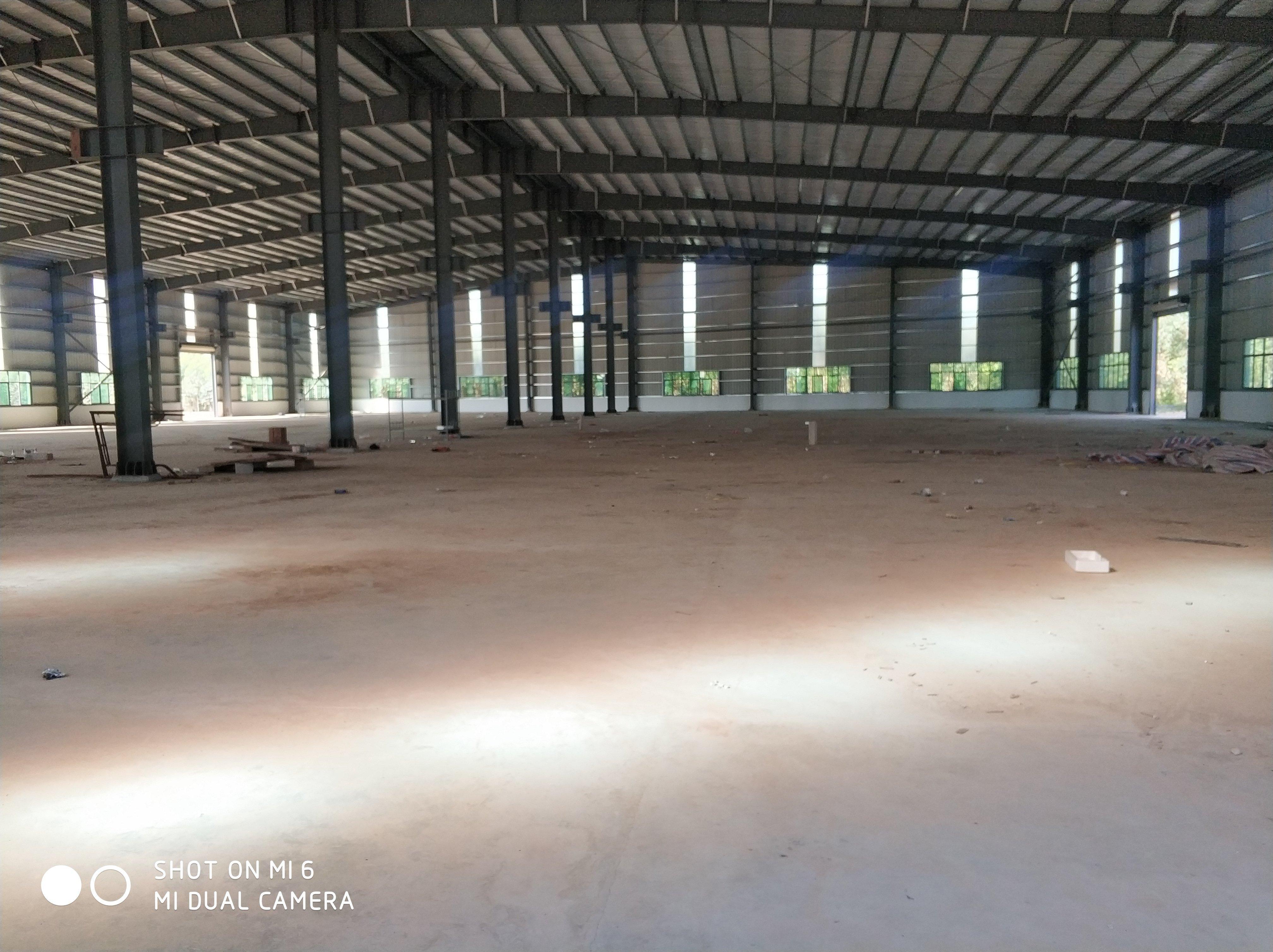 石排镇新建钢构仓库4600平方滴水7米御货时间长不受限