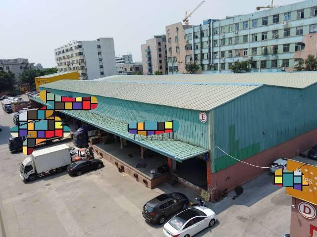 福永兴围107国道边高台物流仓库2400平米钢结厂房招租