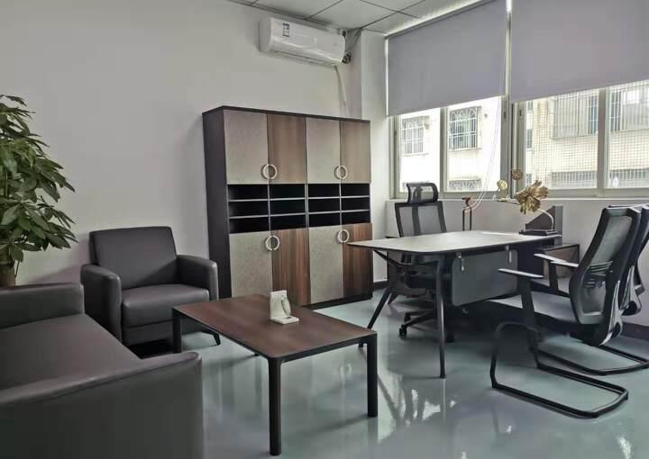 西乡站精装办公室配家私空调直接拎包入住233平3+1图片4