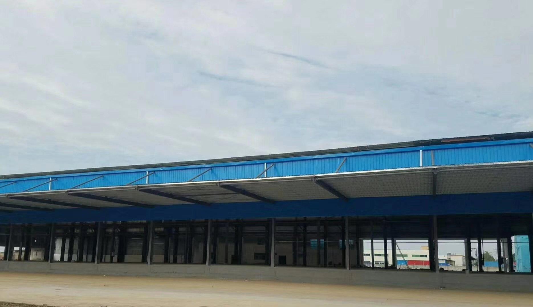 租黄陂一万平米钢构厂房,位置好,配套物流-图2