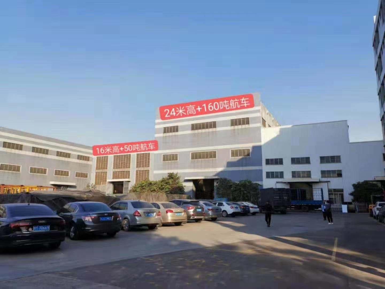 佛山南海狮山镇新出特种厂房,高度24米,带160吨,50吨,