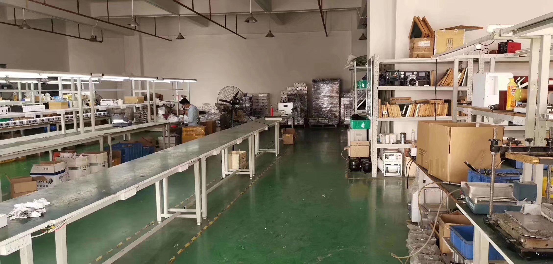 福永白石厦楼上新出1000平水电齐全带装修进驻直接办公