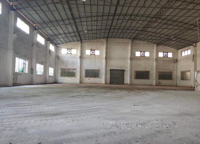 狮山罗村带牛腿有卸货平台单一层,独立办公宿舍楼,可做仓储生产